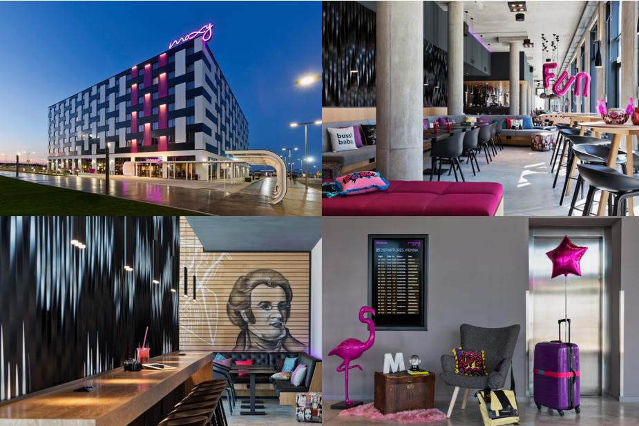 Moxy Hotels : premier hôtel à Vienne