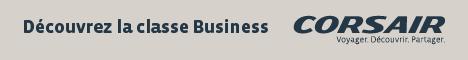 Découvrez la classe Business - Corsair