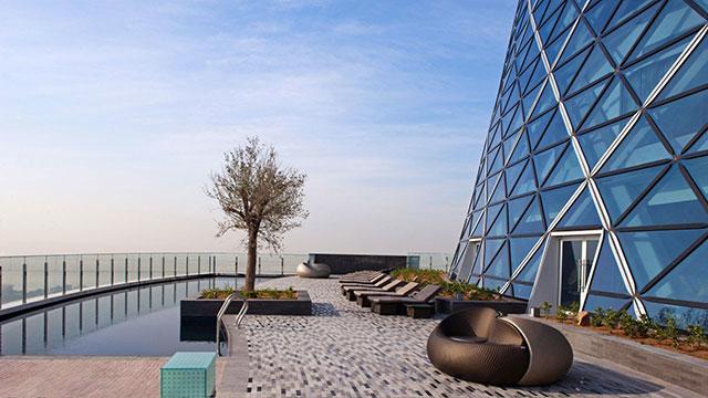 Ouverture de l'hôtel Andaz Capital Gate Abu Dhabi